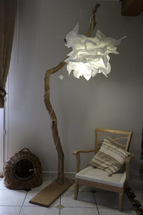 lampes en bois
